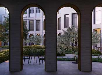 Фасадные арки